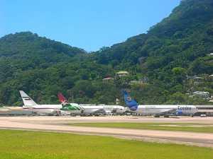 Flughafen Seychellen Airport
