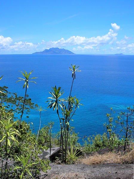 Aussicht vom Anse-Major Pass Mahe Seychellen
