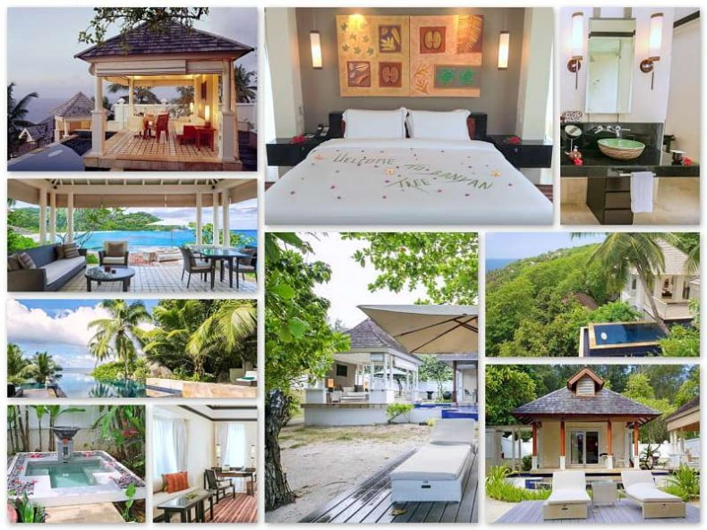 Banyan Tree Seychellen Villas Fotos