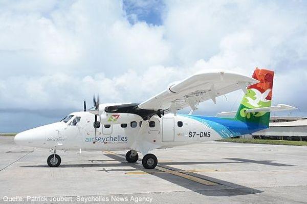 Inselhopping Seychellen mit Air Seychelles Flugzeug