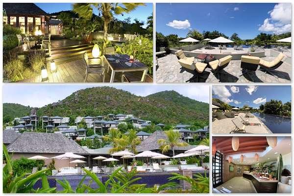 Seychellen Praslin mit dem Raffles Resort
