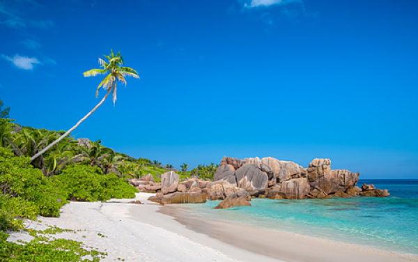 Seychellen Strand Anse Cocos