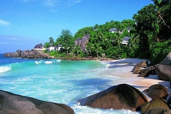 Seychellen Mahe Strand