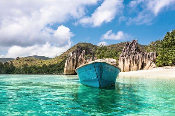 Schildkröteninsel Curieuse Seychellen