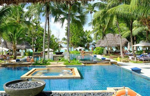 Inselhopping Seychellen Das Hilton Seychelles Labriz Resort & Spa auf Silhouette - mehr Info hier!