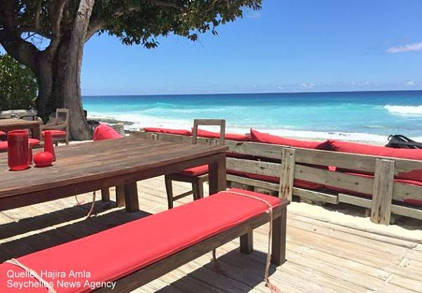 Seychellen North Island Lodge Bar